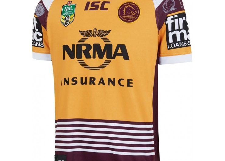 Brisbane Broncos Rugby Jersey 2019conmemorativo