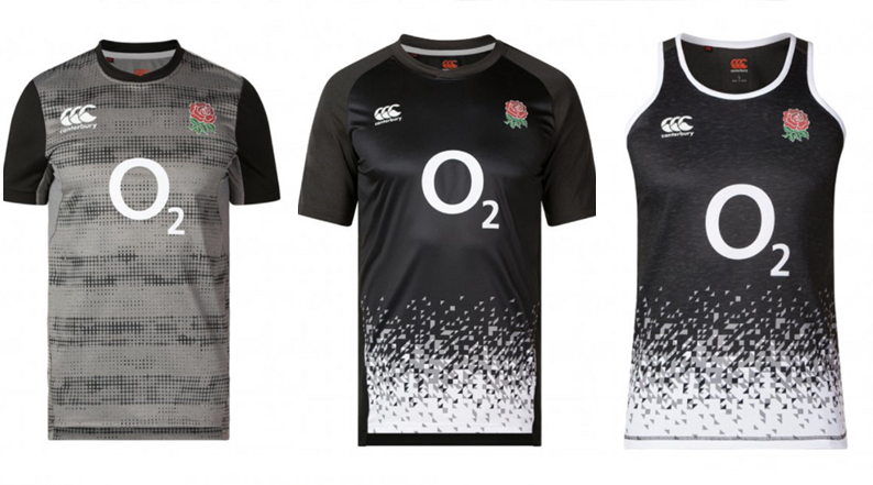England Rugby reveal 2019 Canterbury Training Kit