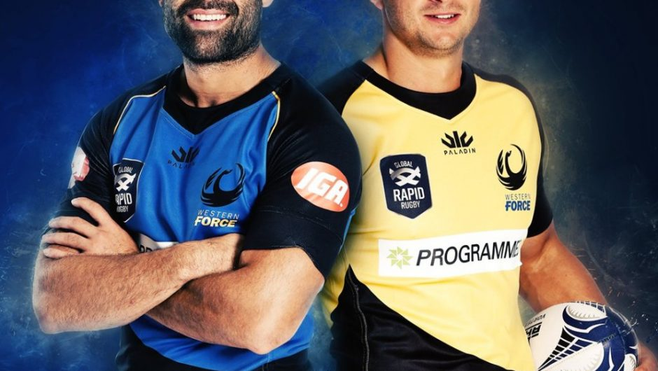 Western Force reveal 2019 Paladin Sports home & away jerseys