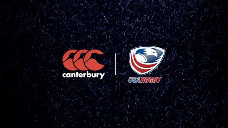 Rugby de EE. UU. Firma un contrato de kit de Canterbury para RWC2019