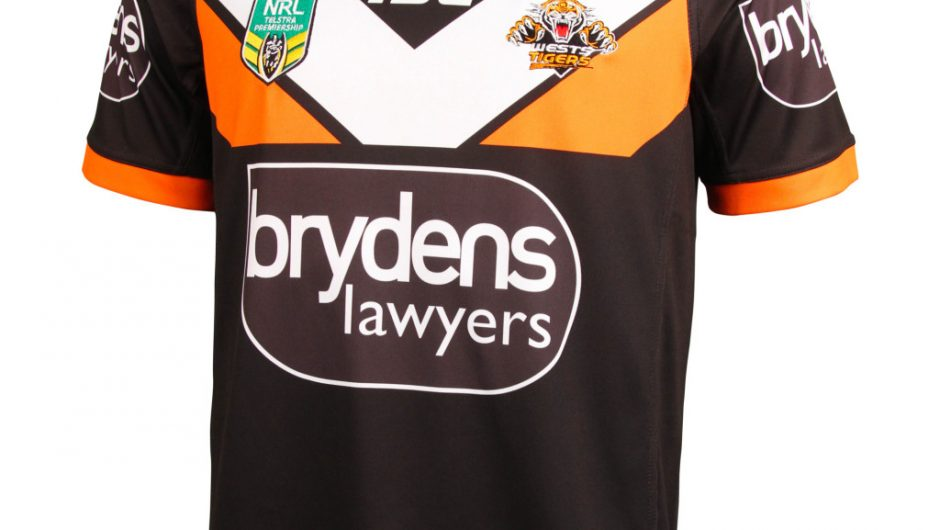 Wests Tigers NRL 2016 ISC Home, Away & Alternate Shirts