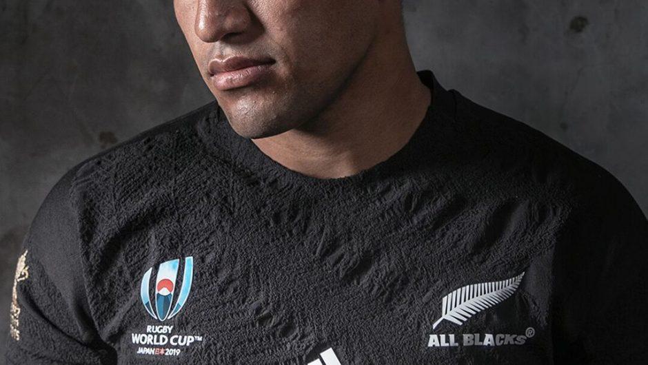 Nueva Zelanda All Blacks revela las camisetas Adidas RWC2019
