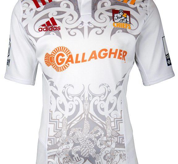 Camiseta adidas Chiefs Super Rugby 2016 de visitante