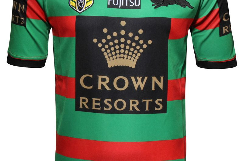 South Sydney Rabbitohs NRL 2016 Camisetas de local y visitante