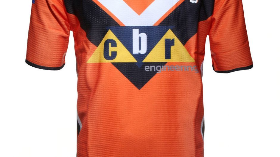 Castleford Tigers 2015 Super League XBlades Local y camiseta alternativa