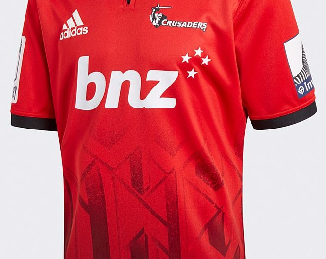 Crusaders Super Rugby 2018/19 Adidas Home & Away Camisas