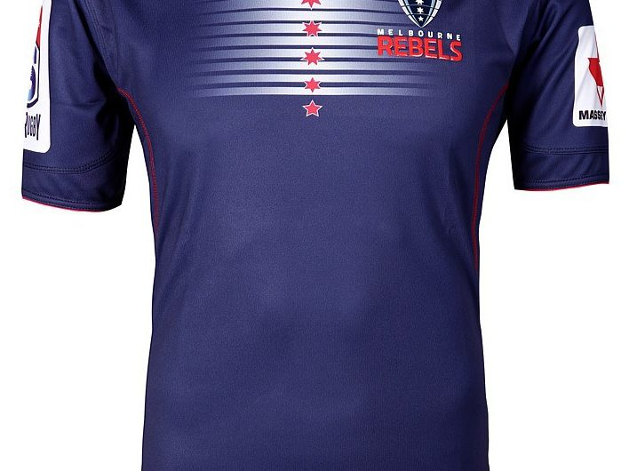 Melbourne Rebels Super Rugby 2018 BLK Sport Camisetas de local y visitante