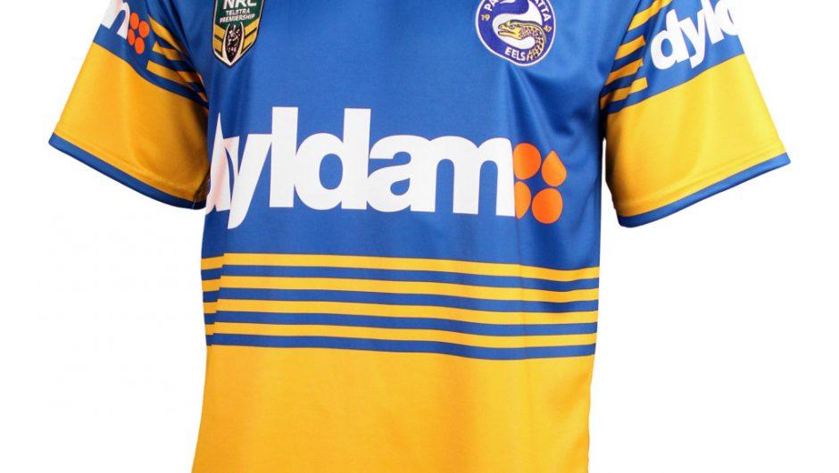 Parramatta Eels NRL 2016 X Blades Inicio y camisas alternativas