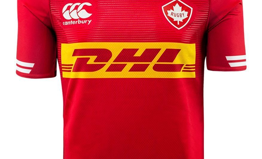 Canada Rugby 2018 Canterbury Home Camisa