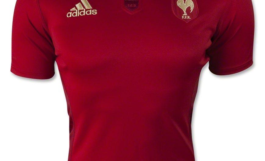 Camiseta Francia Rugby 2015 Adidas Alternate