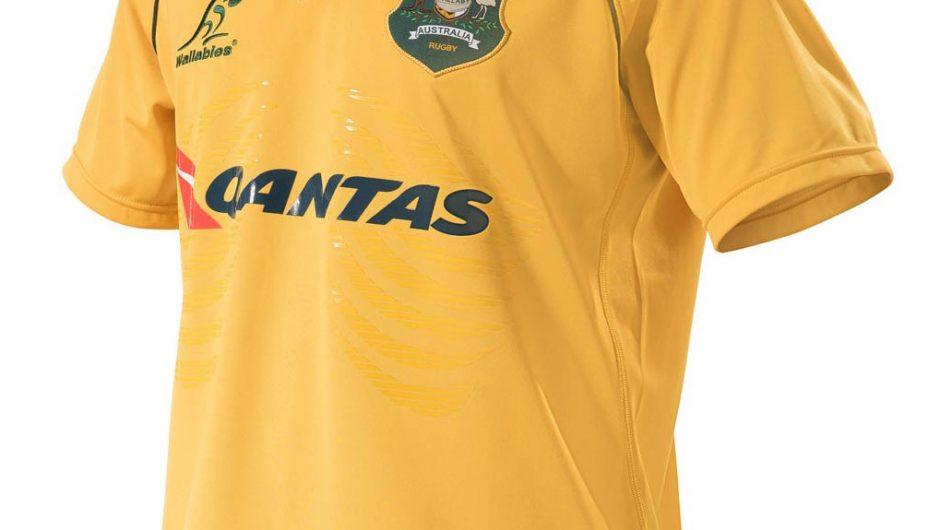 Australia Wallabies 2017 ASICS Home Camisa