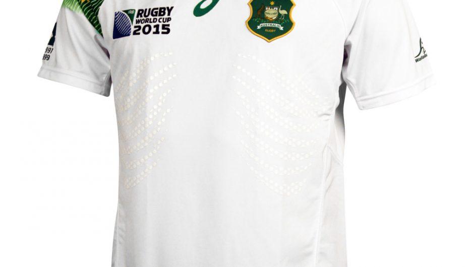 Australia Wallabies Rugby World Cup 2015 ASICS Alternate Shirt