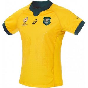 Australia Wallabies RWC2019 Camisetas de hogar e indígenas
