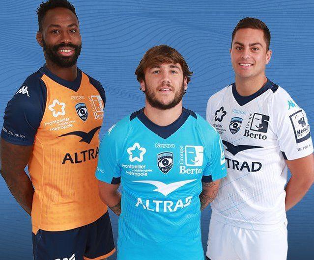 NOTICIAS: Montpellier Herault Rugby revela las camisetas 2019