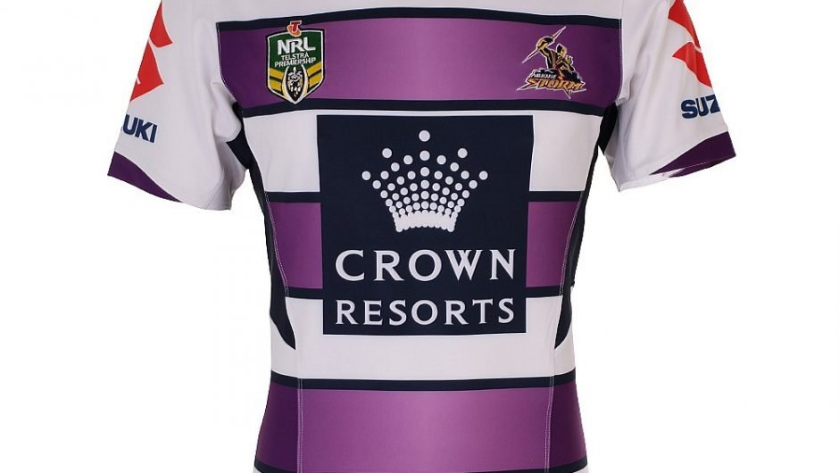 Melbourne Storm NRL 2015 BLK Camisetas alternativas