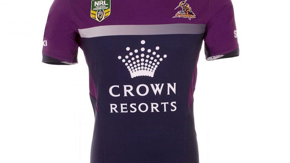Melbourne Storm NRL 2015 BLK Home Camisetas