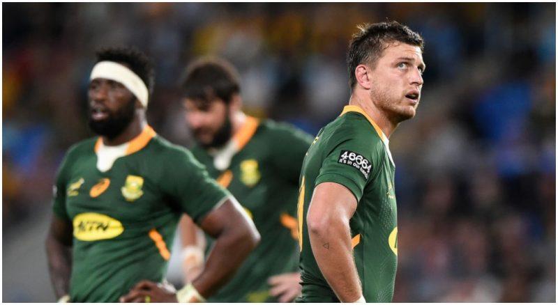 El gran Joel Stranski de los Springboks admite que está «profundamente apenado» por la espalda de Sudáfrica.